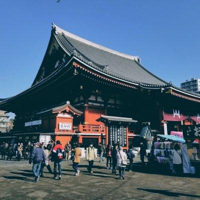 東京都 台東区 浅草寺 本堂