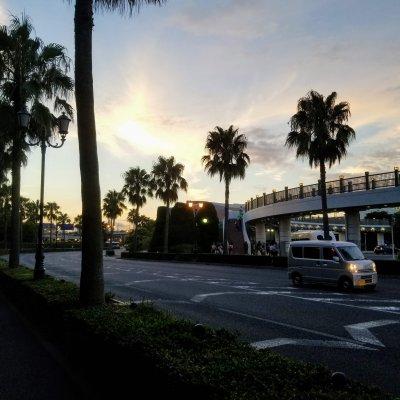 舞浜駅 南口 ロータリー