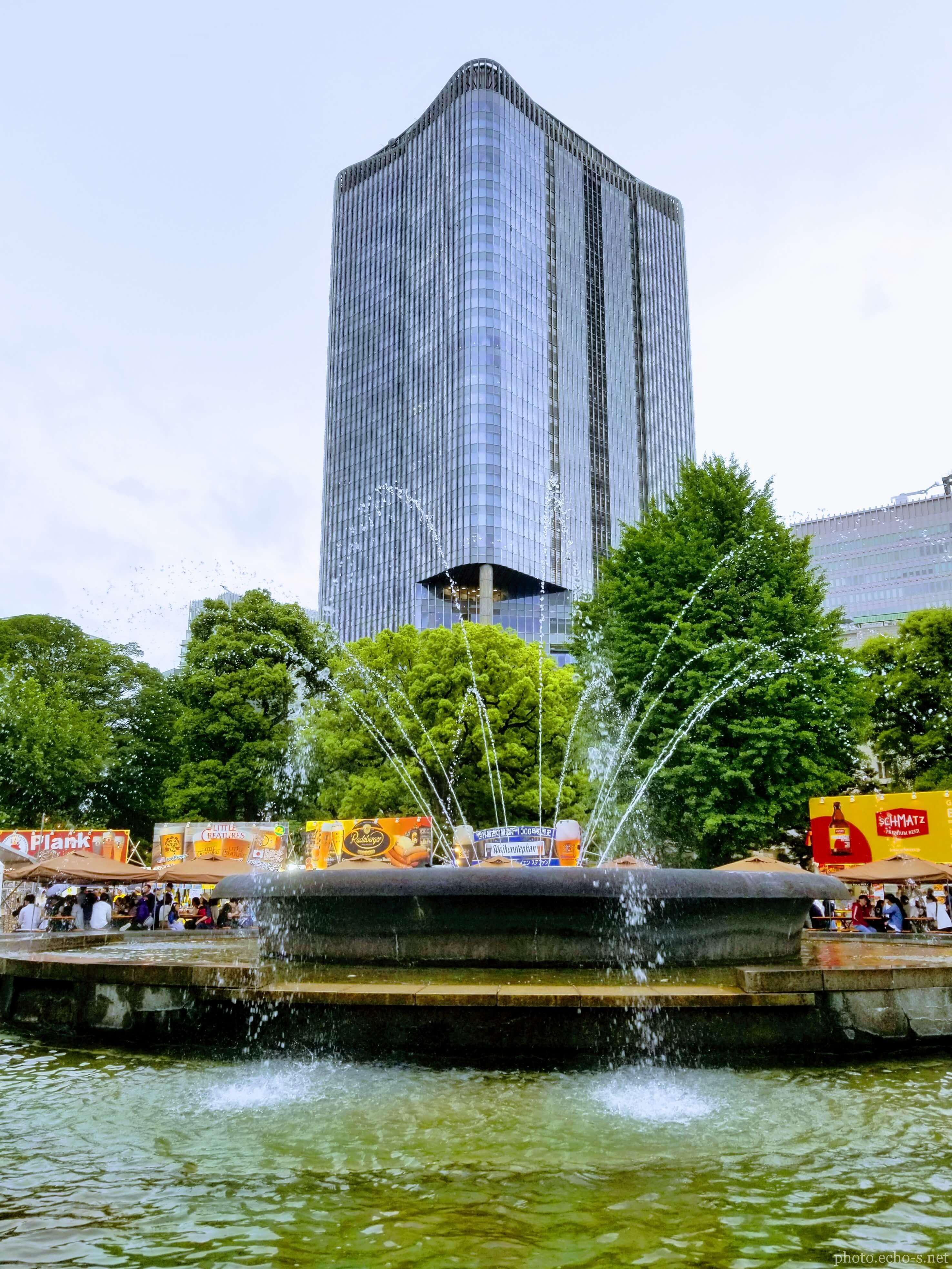 日比谷公園 噴水広場
