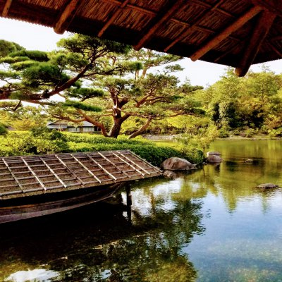 昭和記念公園 日本庭園 昌陽