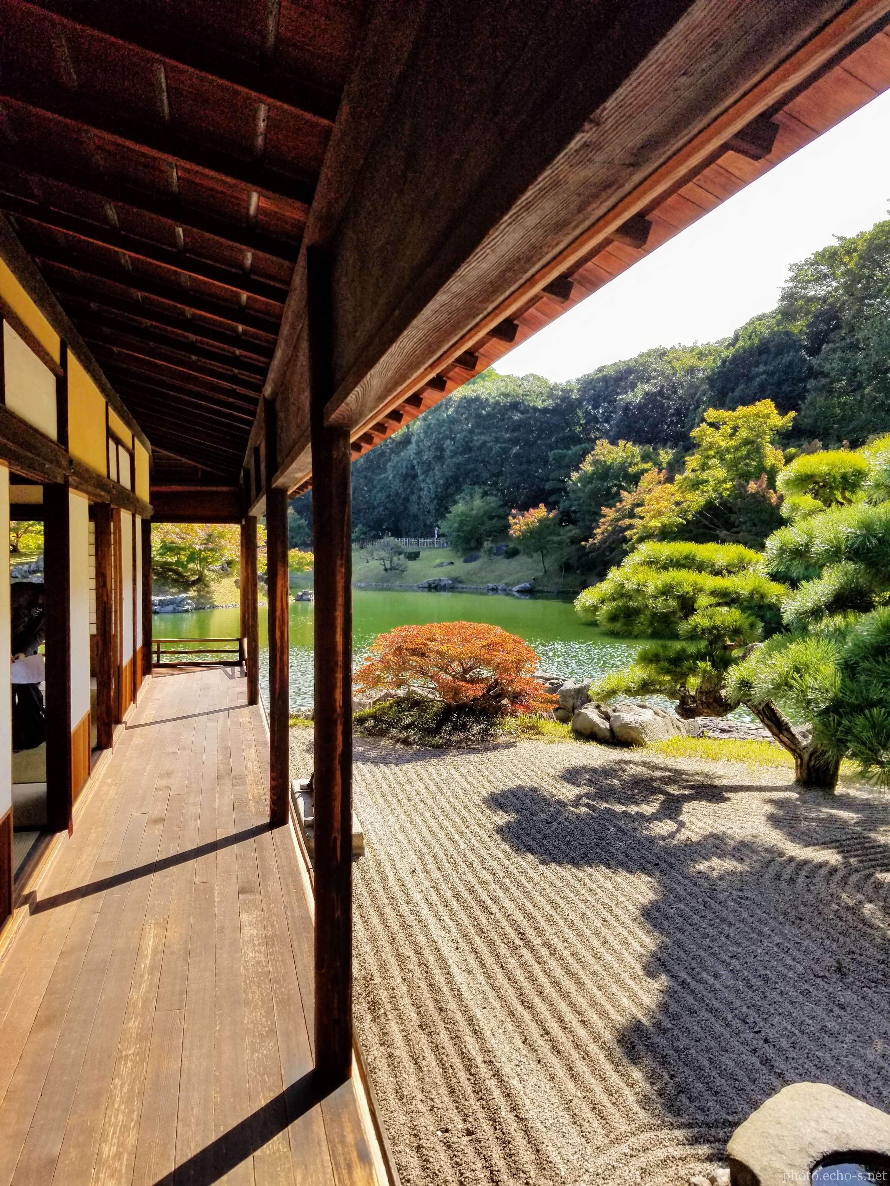 香川 栗林公園 掬月亭