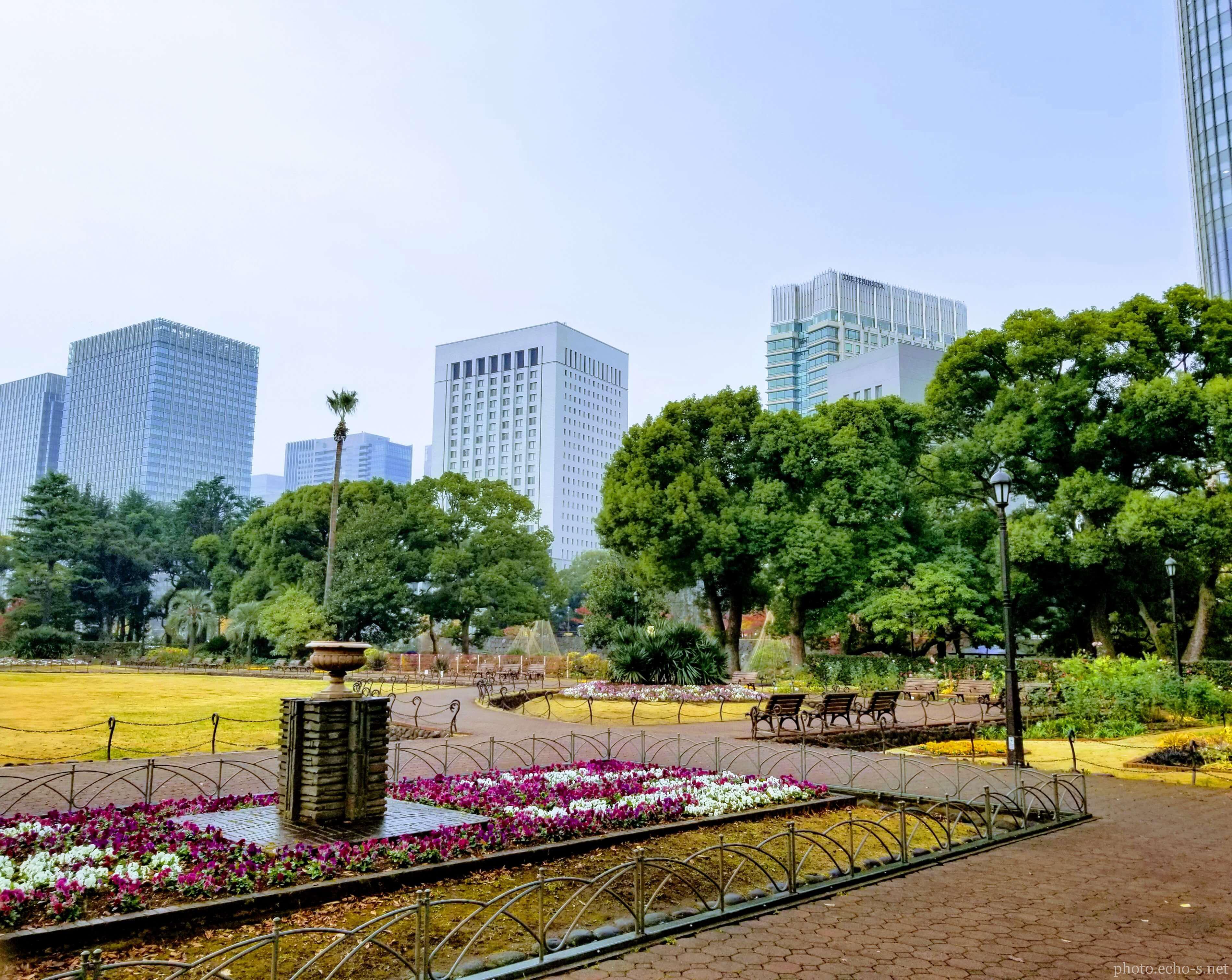 日比谷公園 第一花壇