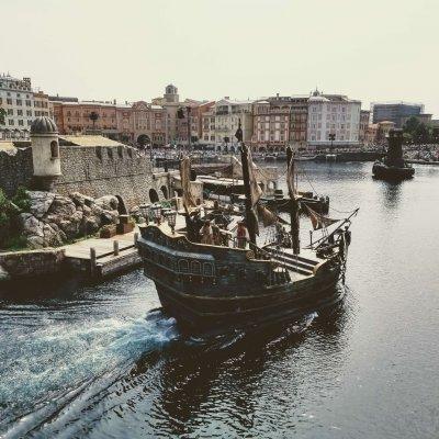 東京ディズニーシー メディテレーニアンハーバー 海賊船