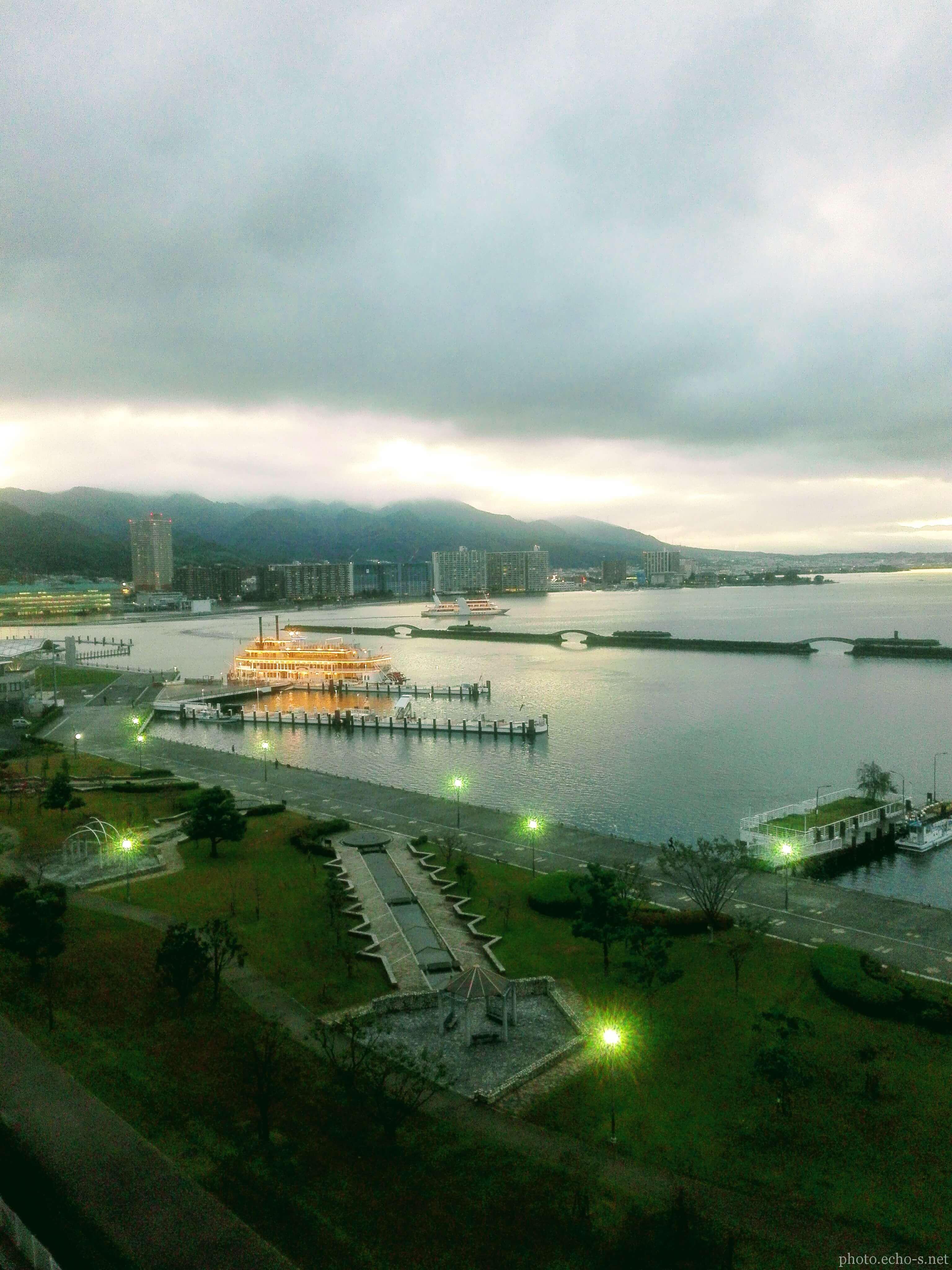 大津港 琵琶湖汽船