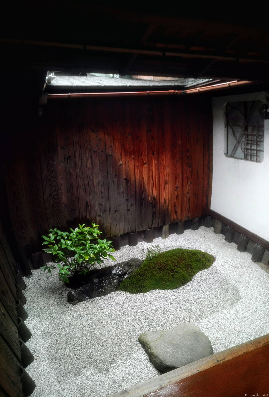 京都 東寺 観智院 坪庭