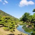 香川 栗林公園 紫雲山