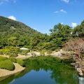 香川 栗林公園 恋ツツジ