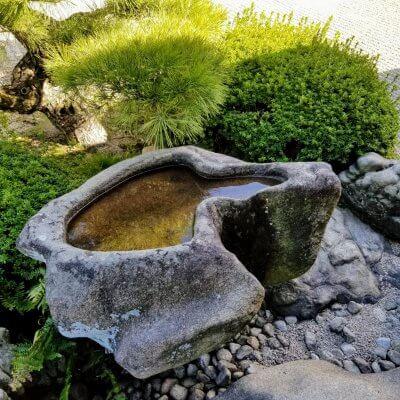 香川 栗林公園 水鉢