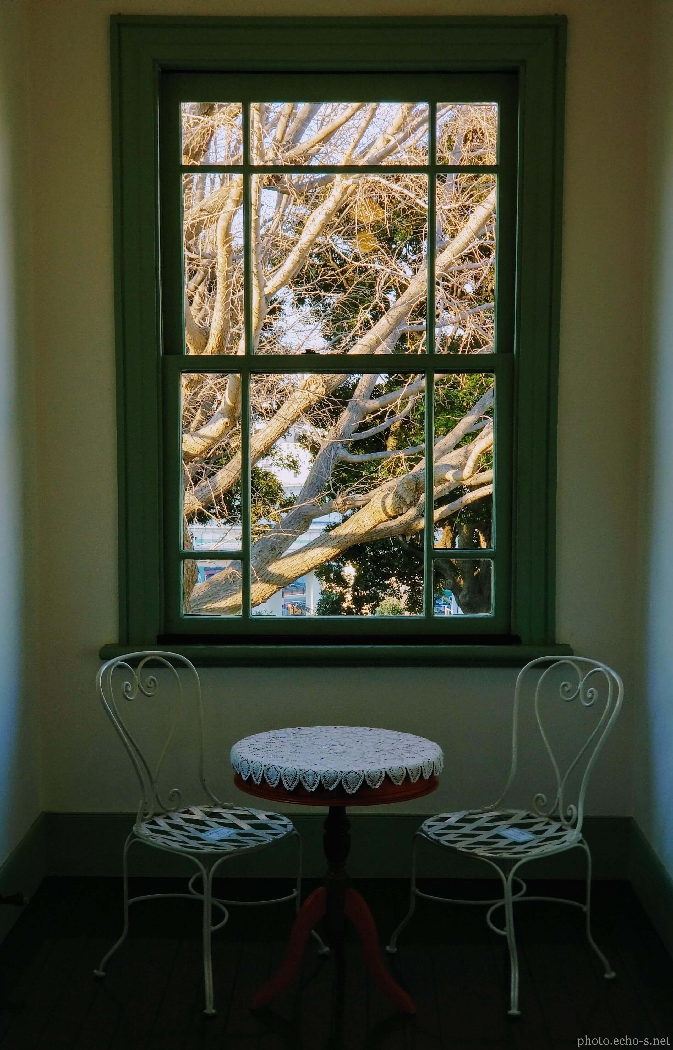 横浜 山手イタリア山庭園 ブラフ18番館 2階廊下