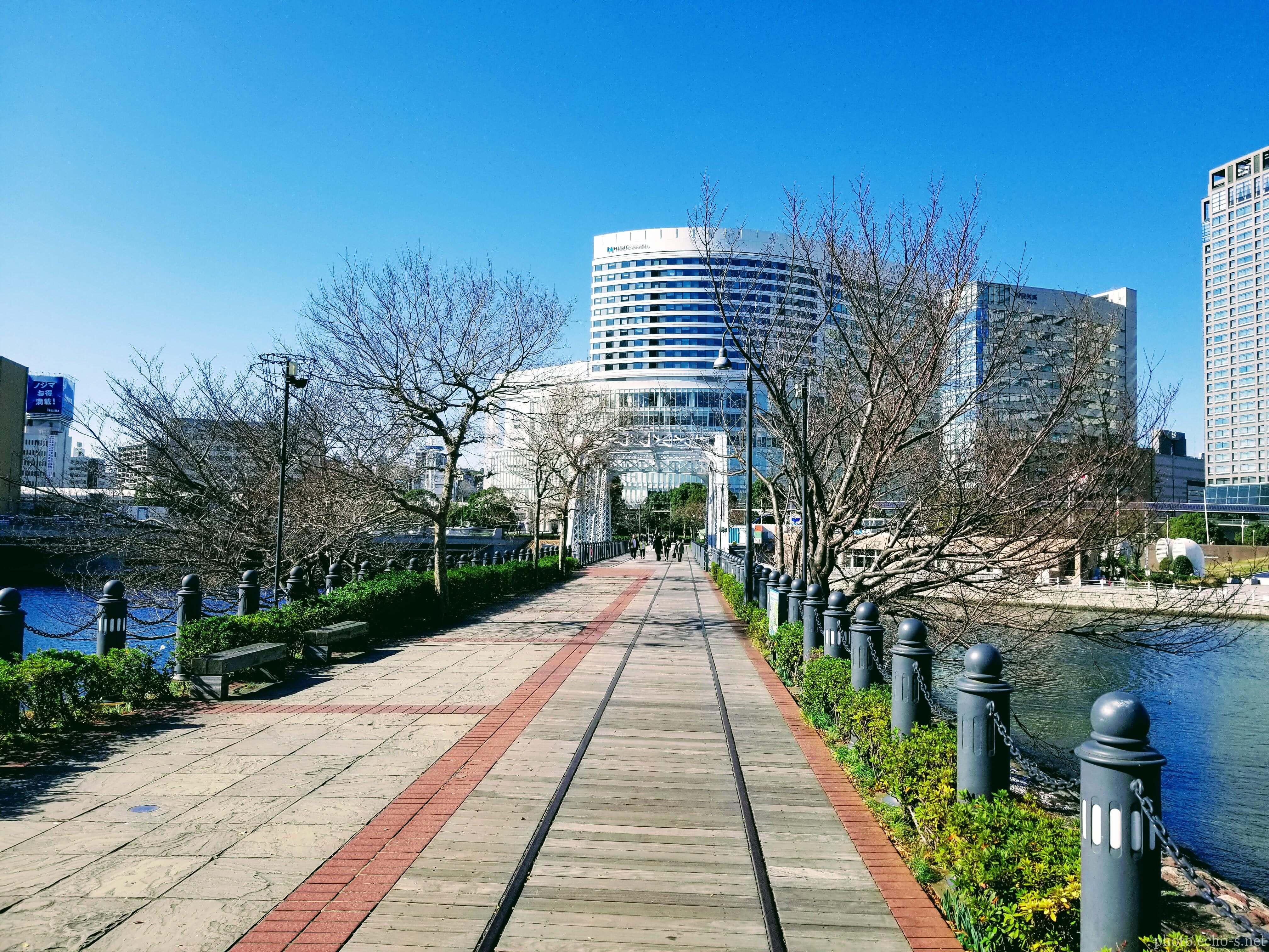 横浜 みなとみらい 汽車道