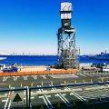 横浜 新港埠頭 ハンマーヘッドクレーンの遺構