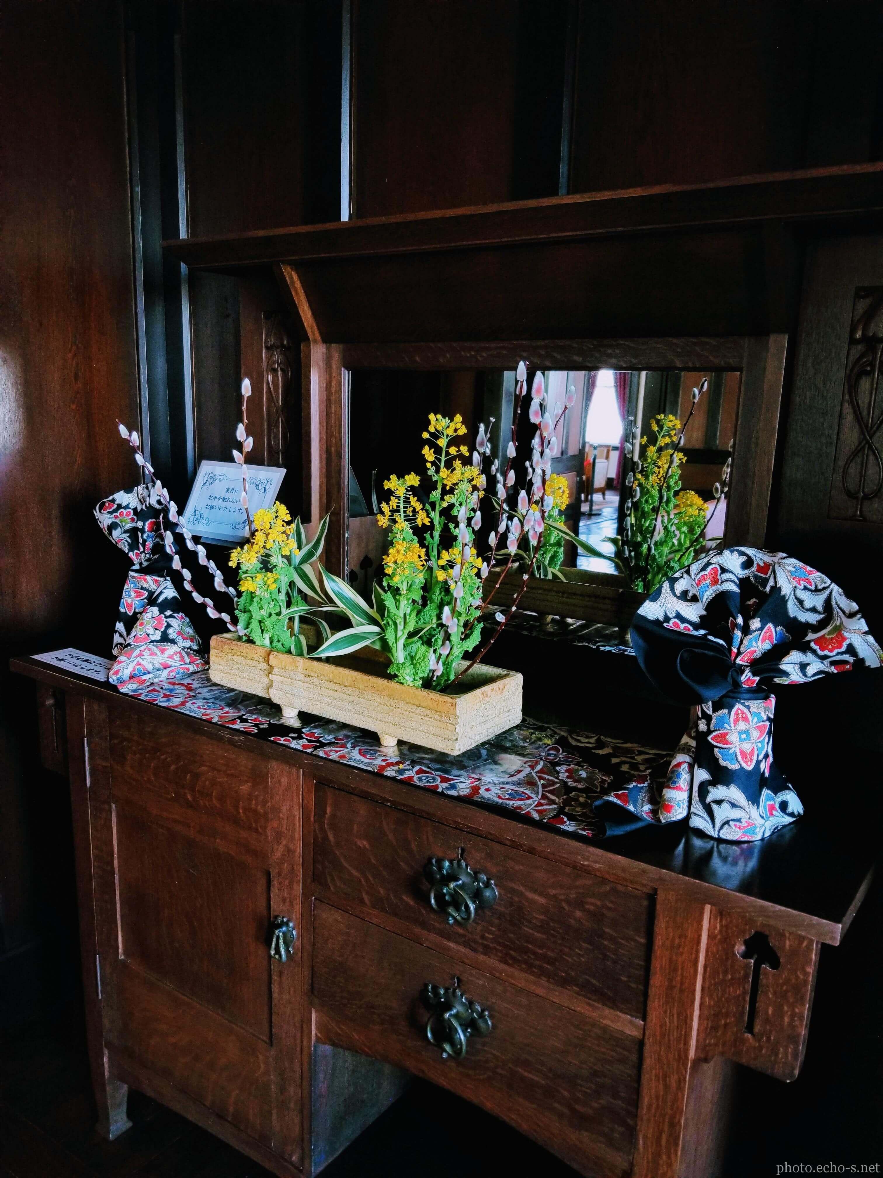 横浜 外交官の家 食堂 棚