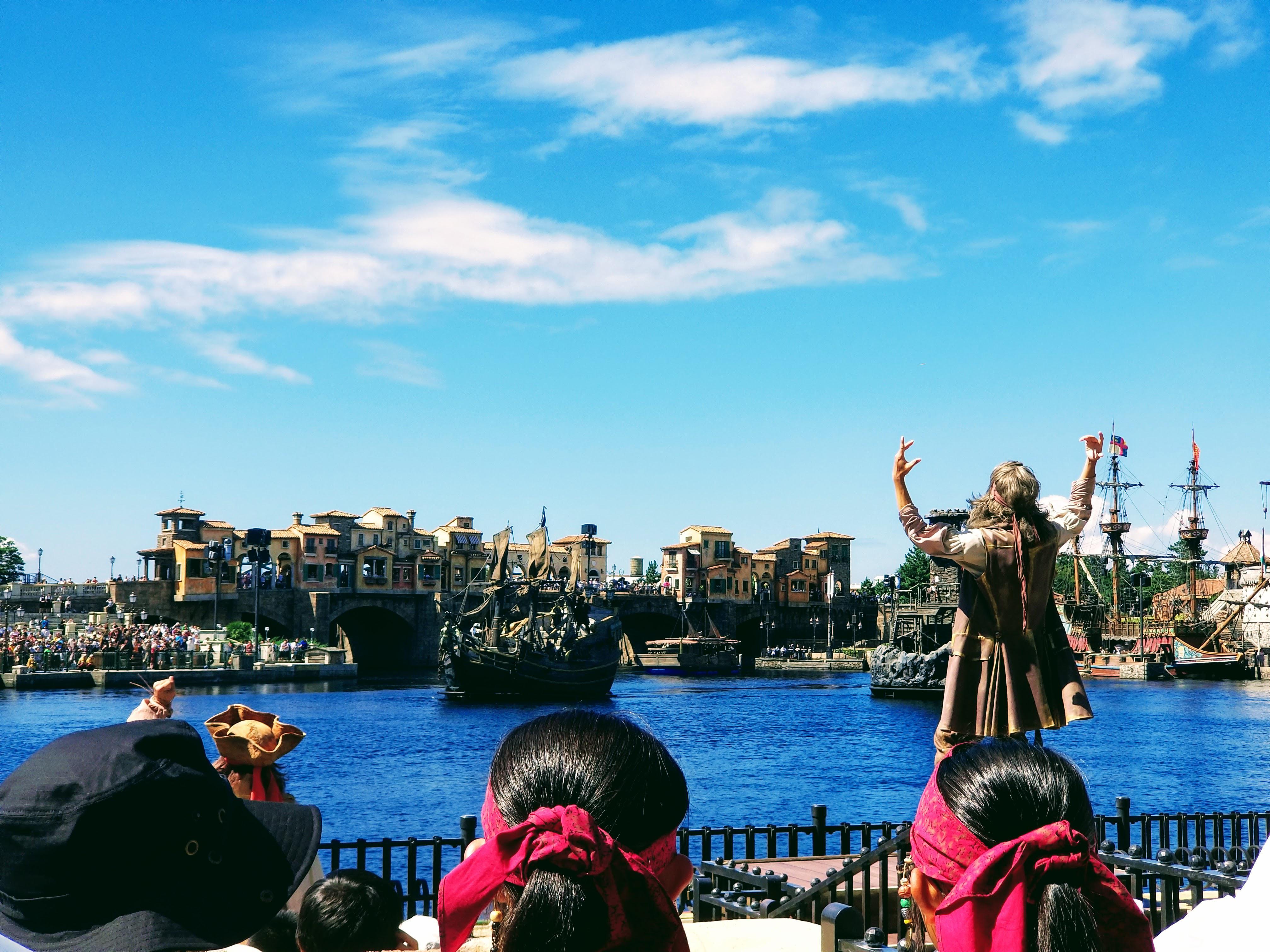 東京ディズニーシー メディテレーニアンハーバー 海賊
