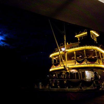東京ディズニーランド ウエスタンランド 蒸気船マークトウェイン号 乗船