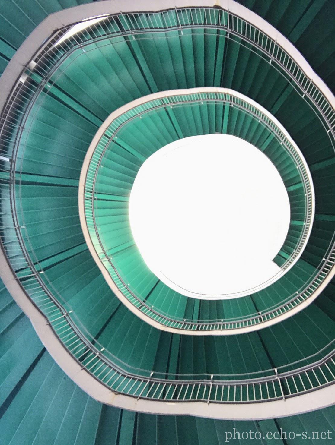 浜松市 アクトシティ浜松 螺旋階段