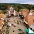 山梨 北杜市 ハイジの村 展望塔からの眺め