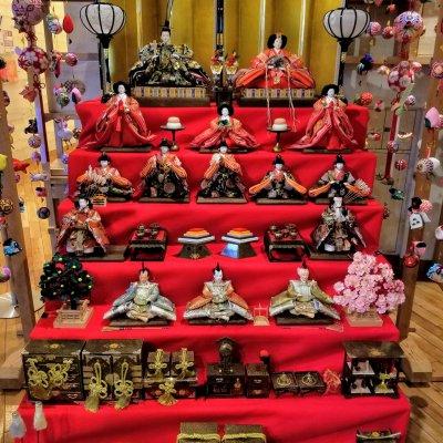 東京都 台東区 まるごとにっぽん 雛人形 七段飾り