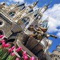 東京ディズニーランド シンデレラ城 ミッキーマウス