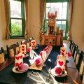 横浜 山手イタリア山庭園 ブラフ18番館 ダイニングルーム 劇団シロネコ バレンタイン♡ストーリー ハートを届けに…