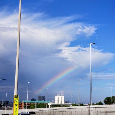 浦安 舞浜 首都高速湾岸線 虹