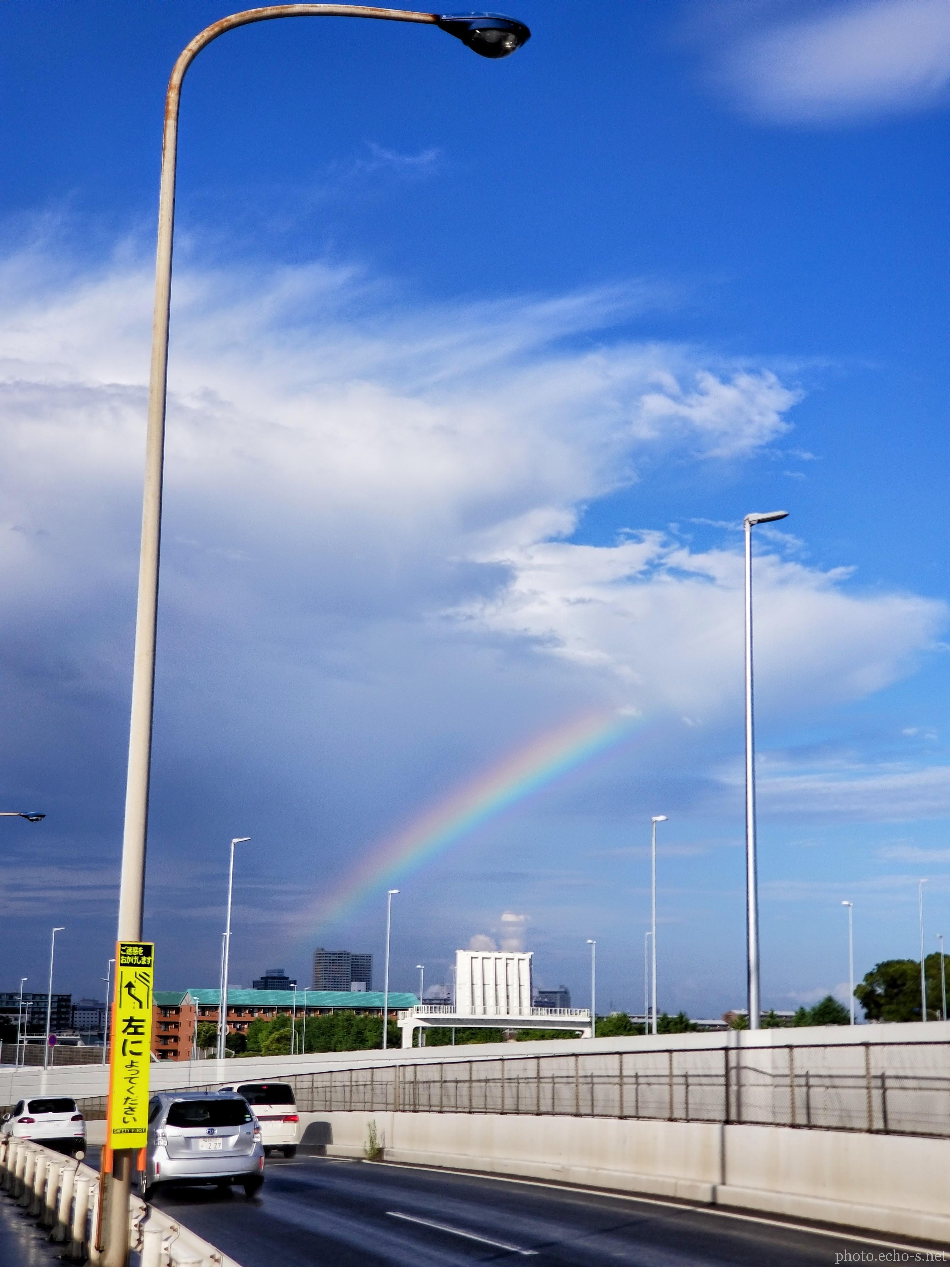 新浦安 舞浜 首都高速湾岸線 虹