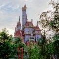 東京ディズニーランド ニューファンタジーランド 美女と野獣の城