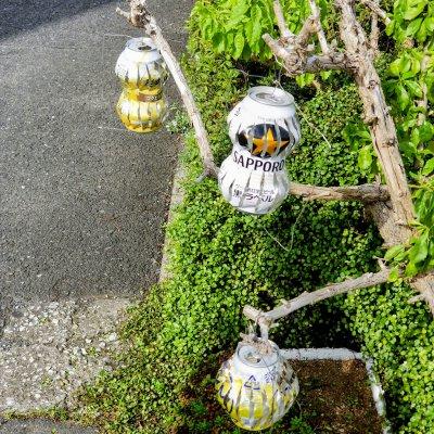 新浦安 富士見 アルミ缶風車