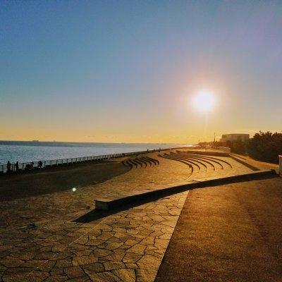 新浦安 高洲 高洲海浜公園 夕方