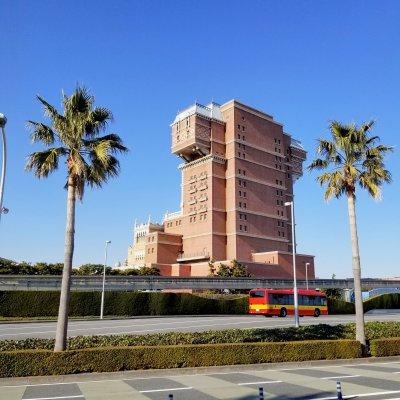 舞浜 海岸遊歩道 ホテルハイタワー裏